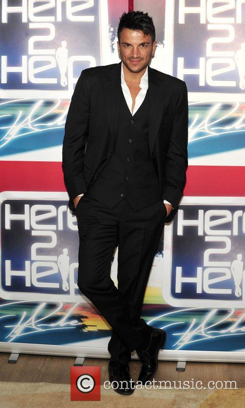 Peter Andre launches his new TV show 'Here...