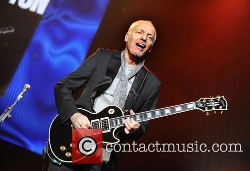 Peter Frampton performing Frampton Comes Alive 35th Anniversary...