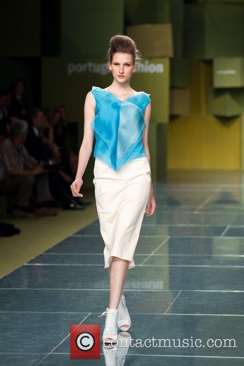 Model  Portugal Fashion Week Spring/Summer 2012 -...