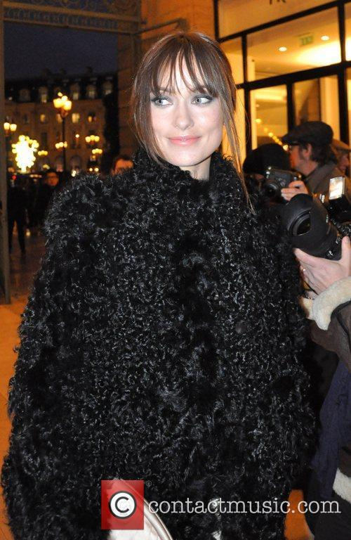 Olivia Wilde Paris Fashion Week Fall 2011 -...