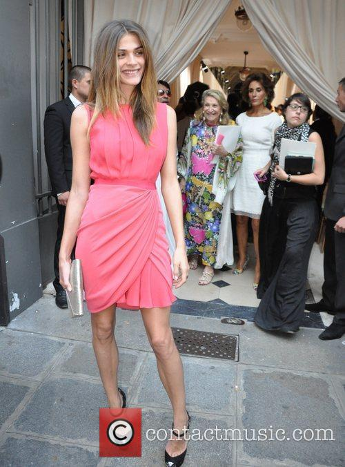 Elisa Sednaoui Paris Fashion Week - Giambattista Valli...