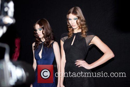Coco Rocha and Karlie Kloss Paris Fashion Week...