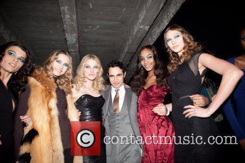 Zac Posen and Jourdan Dunn 6