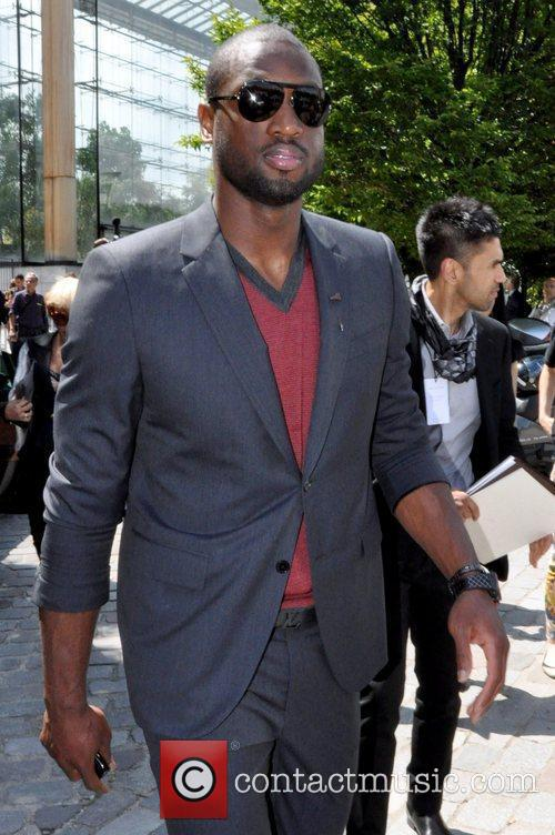 Dwyane Wade, basketball player for the Miami Heat...