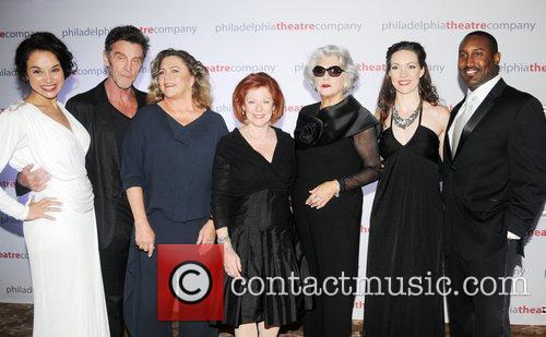 Tyne Daly, John Glover, Kathleen Turner and Terrence...