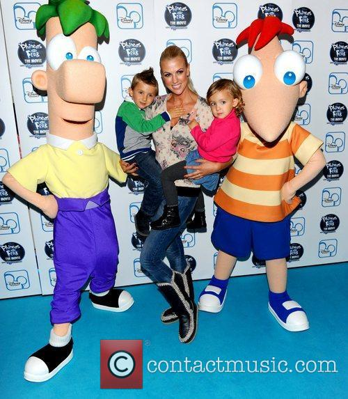 The UK premiere of Disney's 'Phineas and Ferb:...