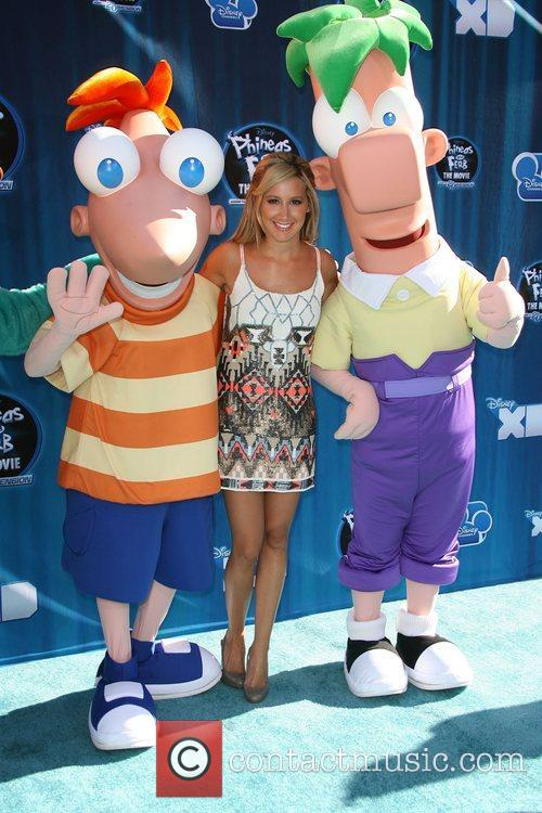 Ashley Tisdale Hollywood Premiere of the Disney Channel...