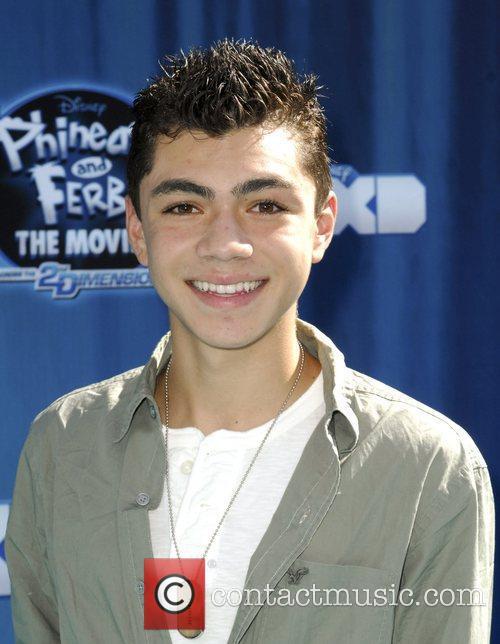 Adam Irigoyen Hollywood Premiere of the Disney Channel...