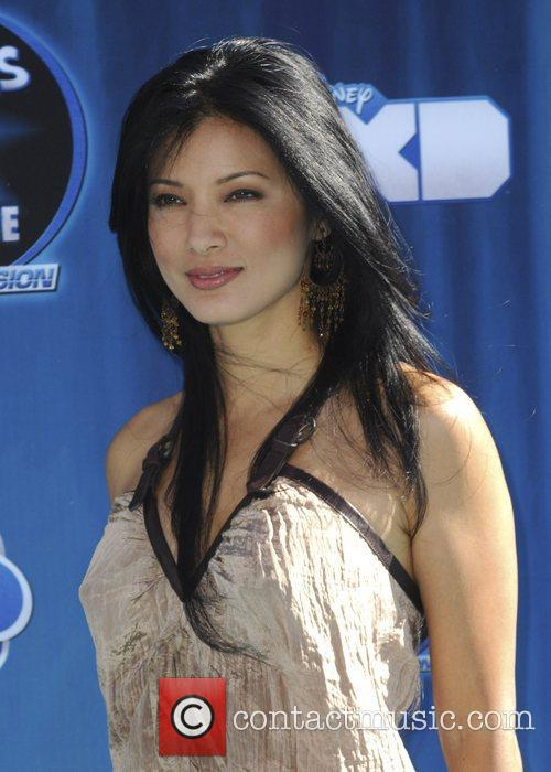 Kelly Hu Hollywood Premiere of the Disney Channel...