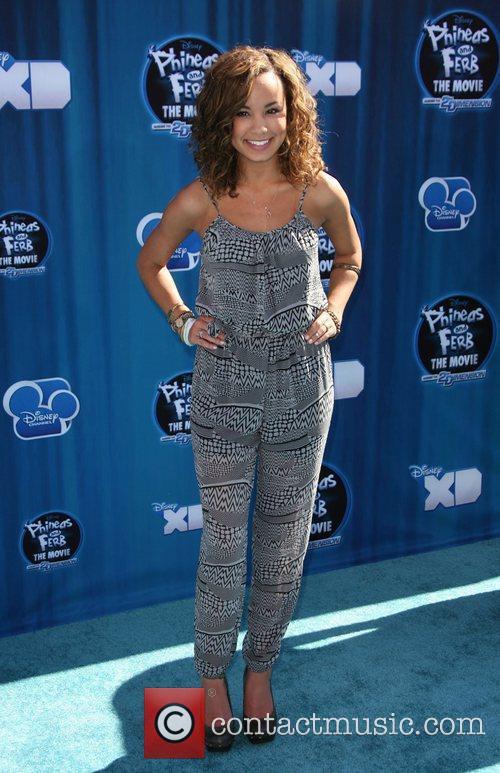 Savannah Jayde Hollywood Premiere of the Disney Channel...