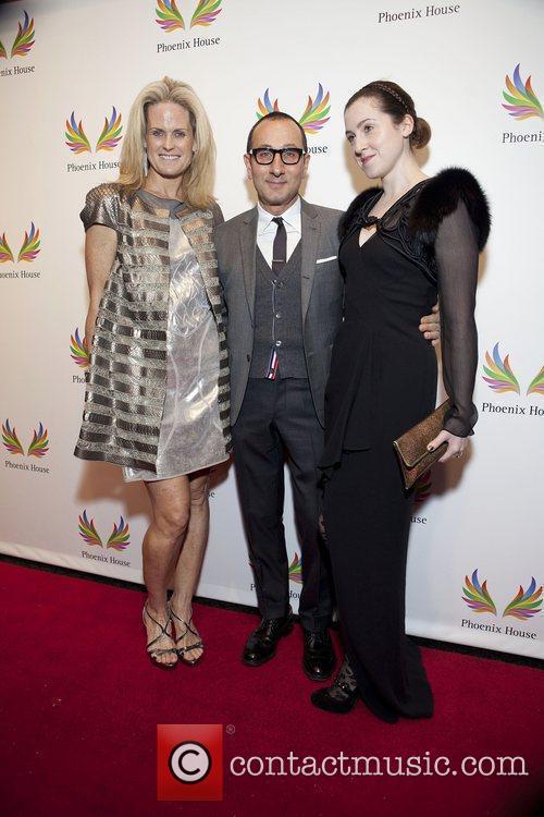 Ashely McDermot, Gilles Mendel and Flavia Masson Phoenix...