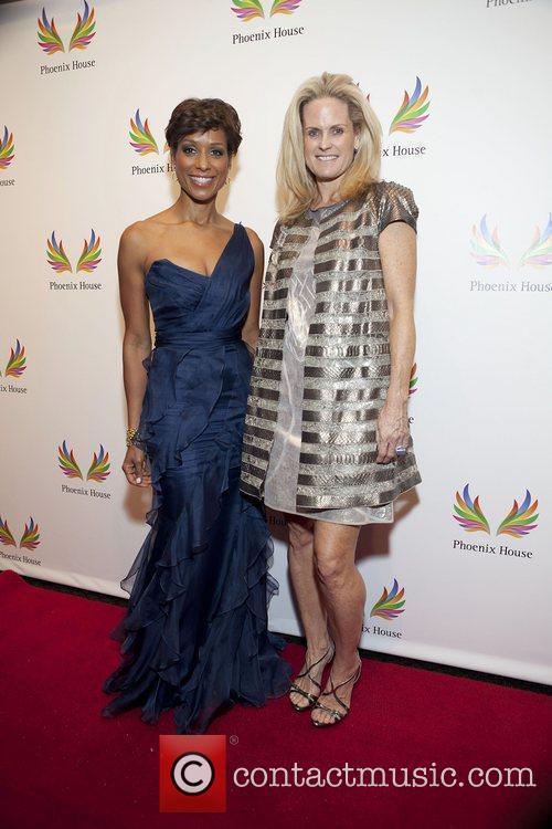Sade Baderinwa and Ashley McDermot Phoenix House Foundation...