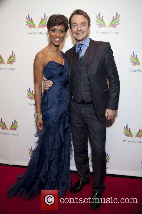 Sade Baderinwa and Michael Clinton Phoenix House Foundation...