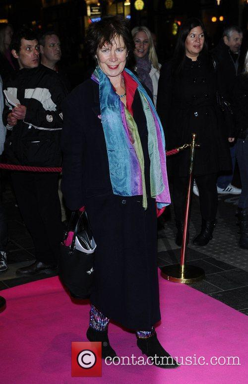 Celia Imrie,  at the press night for...