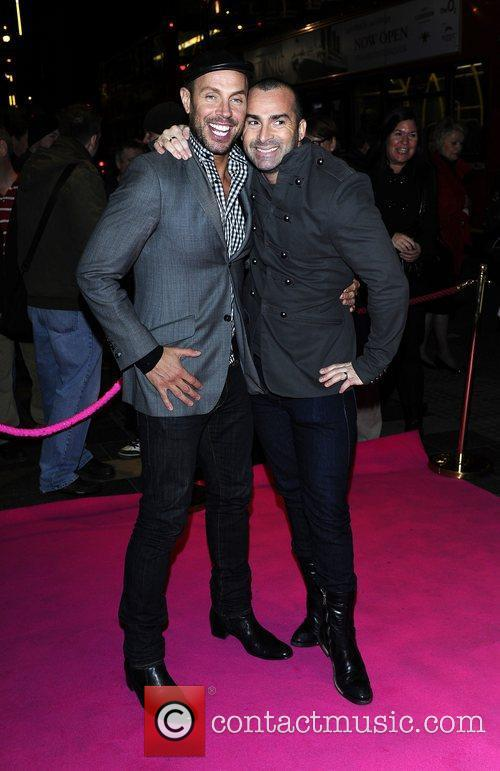 Jason Gardiner, Louie Spence and Pink 1