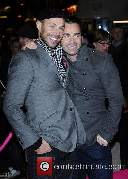 Jason Gardiner, Louie Spence and Pink 2