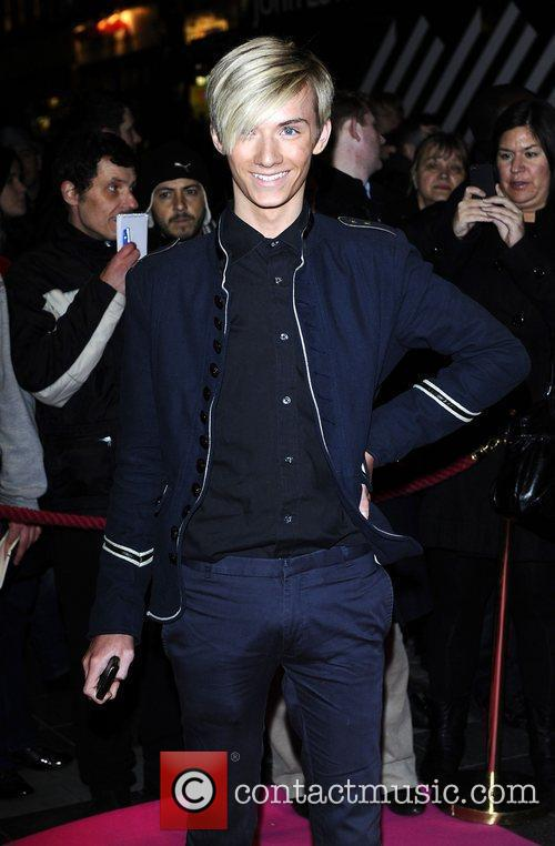 Harry Derbridge,  at the press night for...