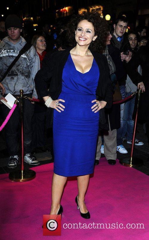 Nadia Sawalha,  at the press night for...
