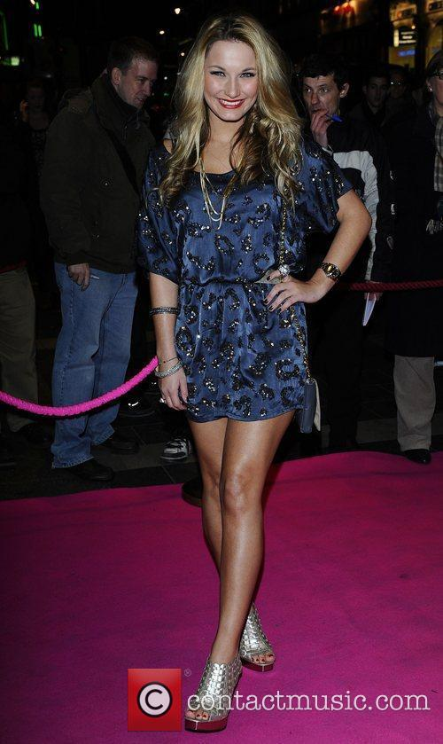 Sam Faiers ,  at the press night...