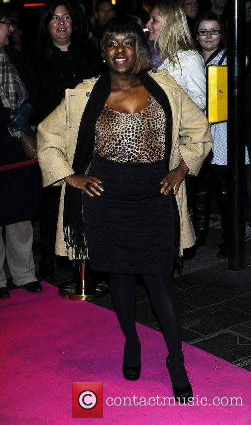Tameka Empson,  at the press night for...