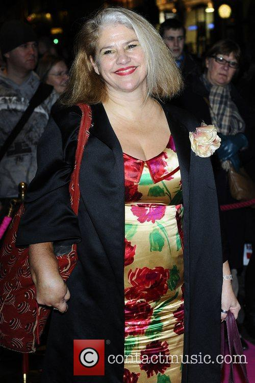 Denise Black,  at the press night for...