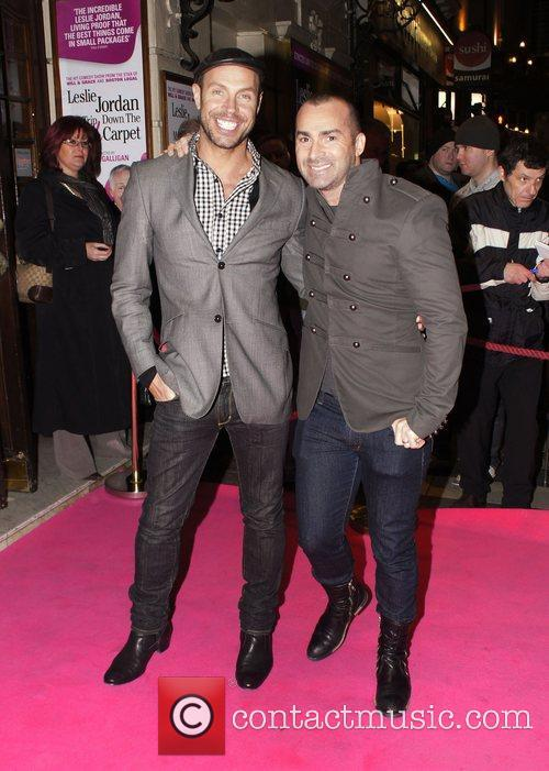 Jason Gardiner, Louie Spence and Pink 6