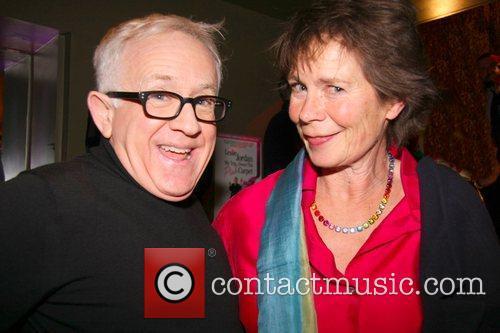 Leslie Jordan, Celia Imrie Press night for 'My...