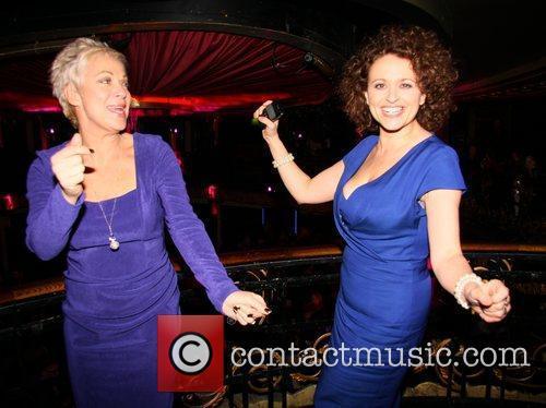Denise Welch, Nadia Sawalha Press night for 'My...