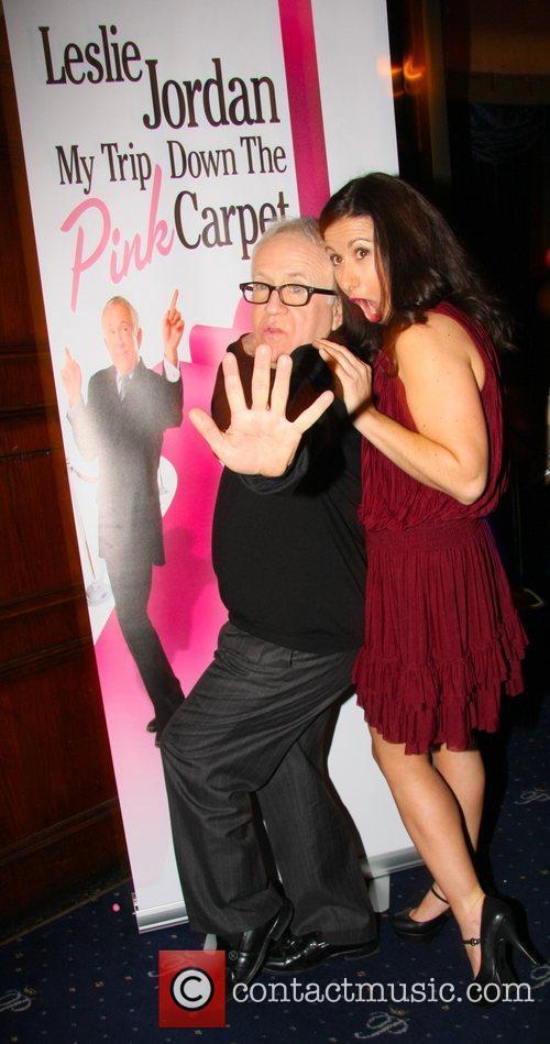 Leslie Jordan, Hayley Tamaddon Press night for 'My...