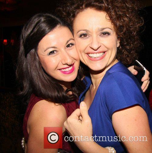 Hayley Tamaddon, Nadia Sawalha Press night for 'My...
