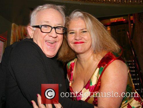 Leslie Jordan, Denise Black Press night for 'My...