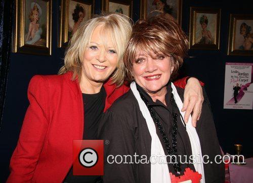 Sherrie Hewson, Amanda Barrie Press night for 'My...