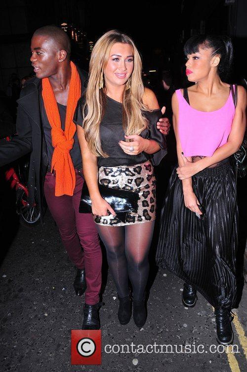 BB Kay and Lauren Goodger   Pink...