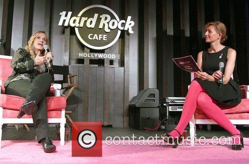 At Hard Rock Cafe's 12th Annual Pinktober campaign...