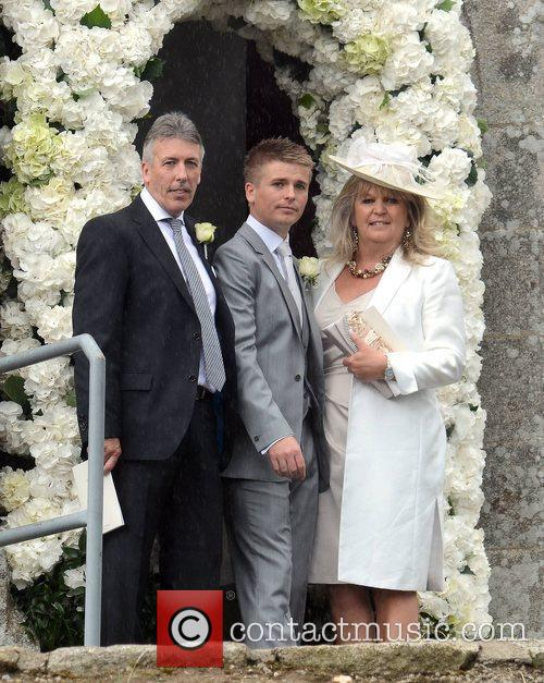 Brian Ormond and his parents The Wedding of...