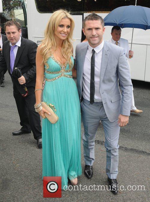 Robbie Keane, Claudine Palmer The Wedding of Pippa...