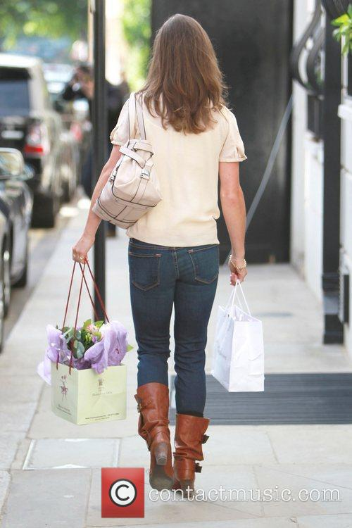 Pippa Middleton out and about West London London,...