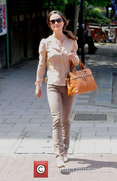 Pippa Middleton out and about in South London...