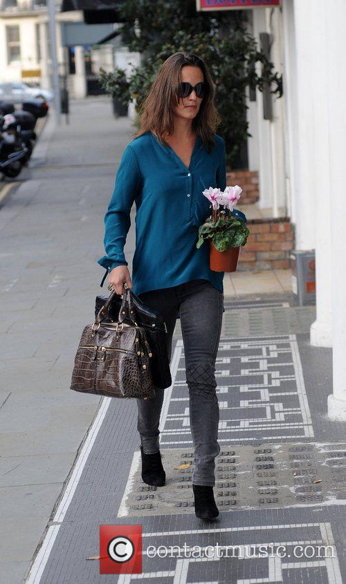Pippa Middleton out and about in west London...