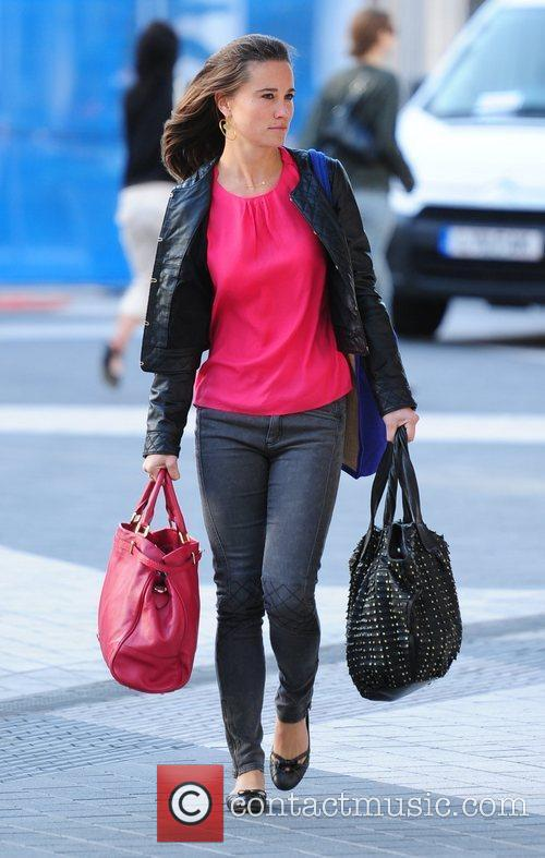 Pippa Middleton  out and about in Kensington...