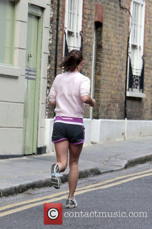 Jogging in west London