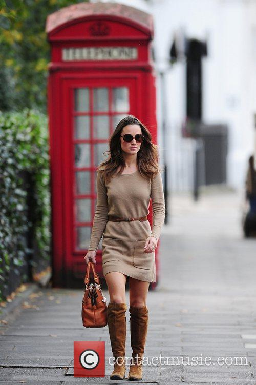 Pippa Middleton is seen out and about in...