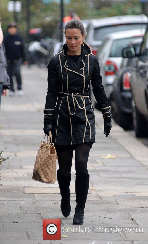 Pippa Middleton heading to work in west London