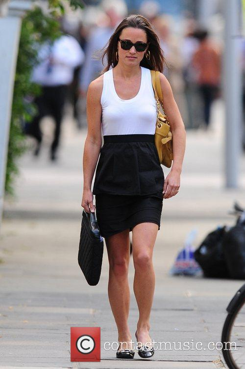 Pippa Middleton out and about in central London...