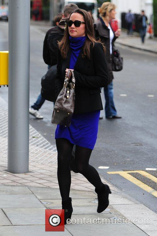 Walking to work in West London