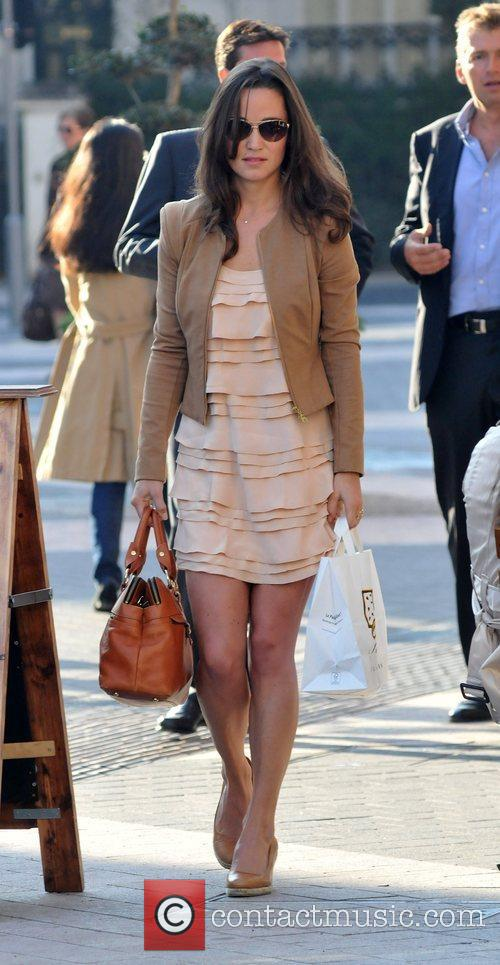 Pippa Middleton  out and about in London...
