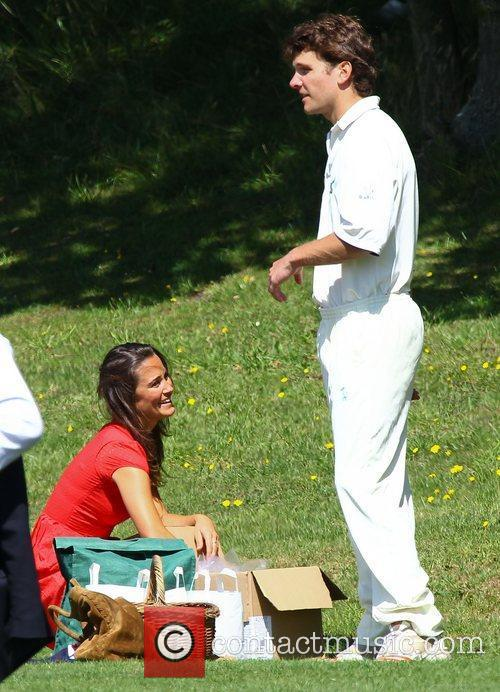 Pippa Middleton  at The Shenley Cricket Centre...