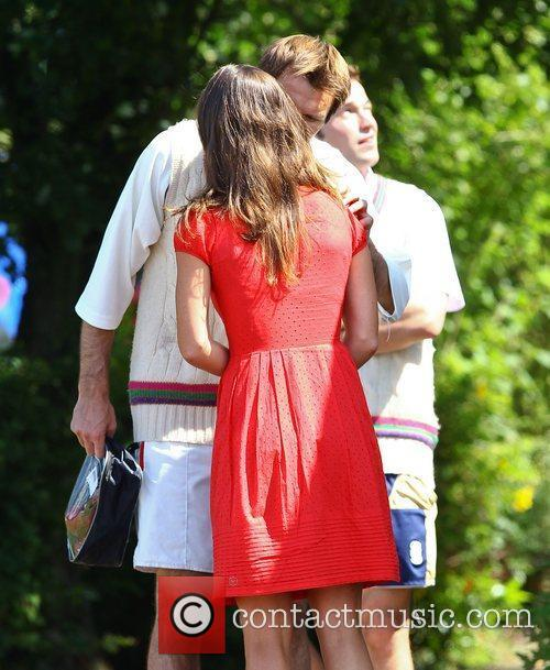 Pippa Middleton  at the Cricketer Cup Final...