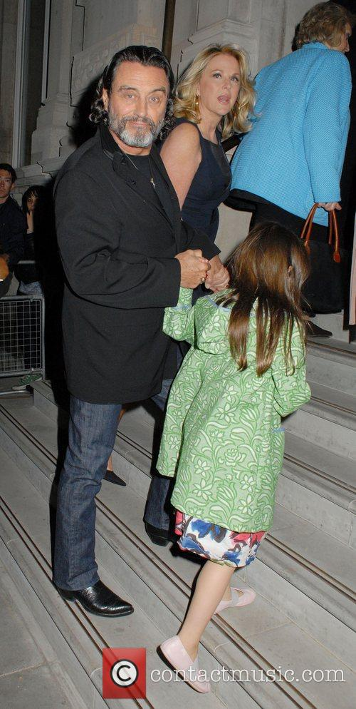 Ian McShane and family 'Pirates of the Caribbean:...