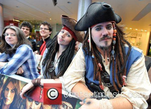 'Pirates of the Caribbean: On Stranger Tides' UK...